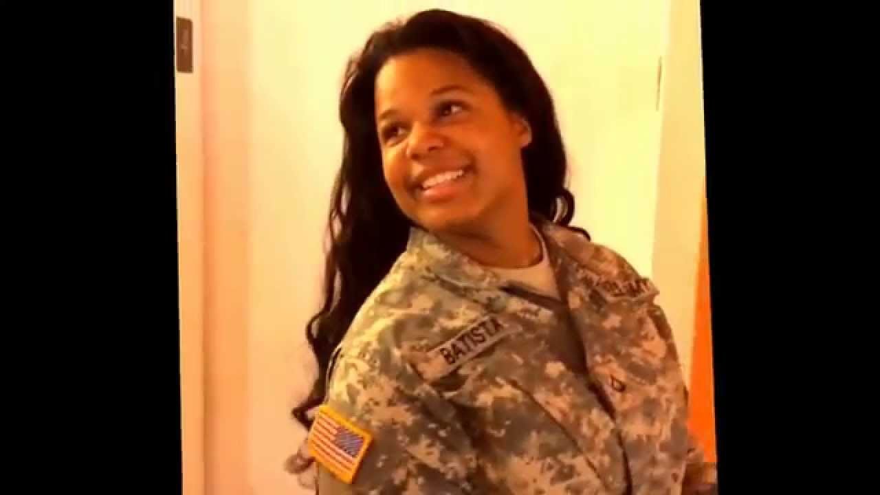 Women In The Army With Hair Extensions Great Fusion Hair Thanks The