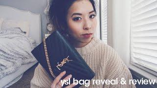 YSL SAINT LAURENT   BAG REVEAL & REVIEW