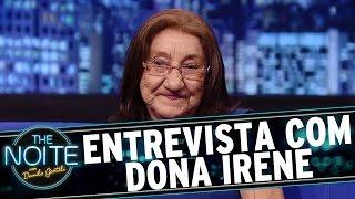 The Noite (28/12/15) - Entrevista com Dona Irene