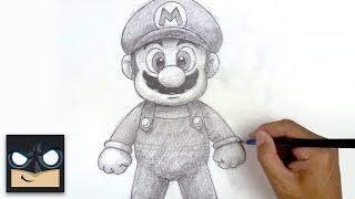 How To Draw Suṗer Mario | Sketch Saturday