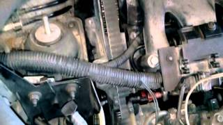 Changing a cam belt on a renault espace2,2td
