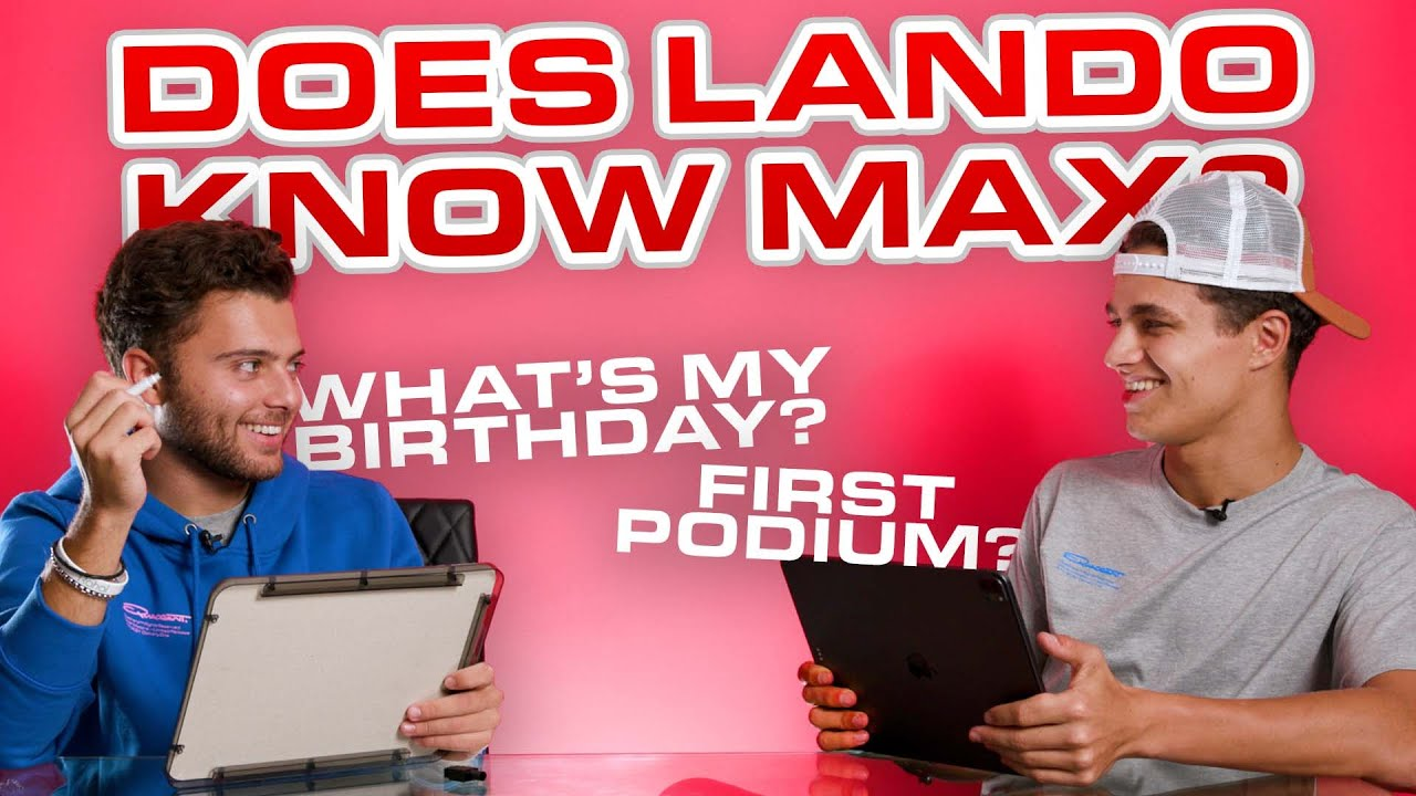 Download How Well Does Lando Norris Know Max Fewtrell?
