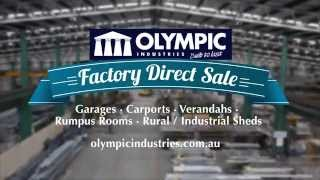 Olympic Industries Factory Direct Sale - Carports