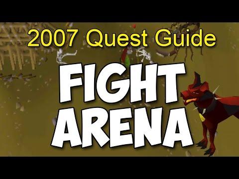 Runescape 2007 Fight Arena Quest Guide