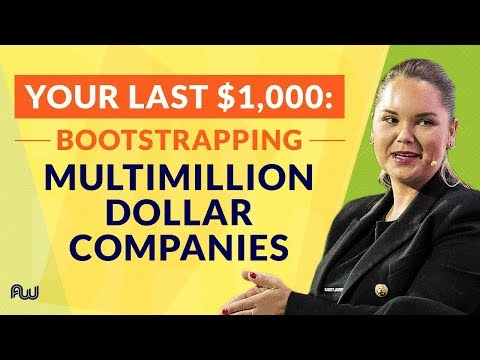 Your Last $1,000: Bootstrapping Multimillion Dollar Companies [Panel] | AWeurope 2018