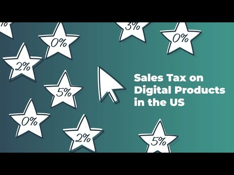 Sales Tax On Digital Products In The US