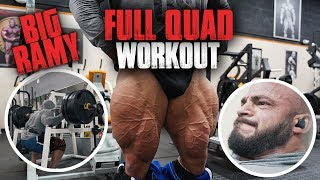 big ramy full quad workout intense training in miami 2019