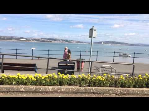 Visit to Swansea in Wales uk