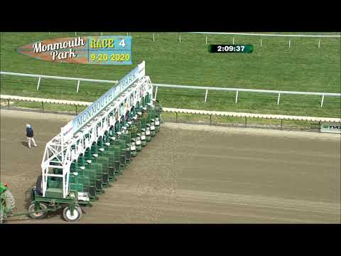 video thumbnail for MONMOUTH PARK 09-20-20 RACE 4