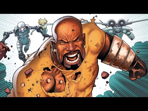 Superhero Origins: Luke Cage