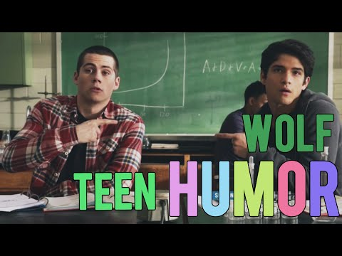 i fell in a hole | teen wolf (humor)