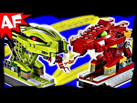 KAI vs RATTLA in SPINNER BATTLE ARENA 9456 Lego Ninjago Stop Motion Set Review