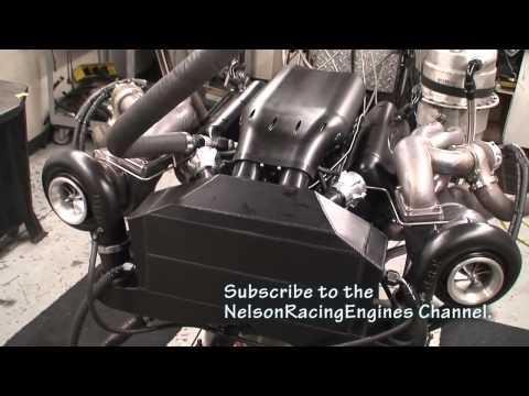 Motor V8 de 2.500 cavalos!