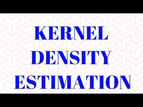 Kernel Density Estimation(KDE) : Non Parametric Statistical Estimation: PROC KDE in SAS