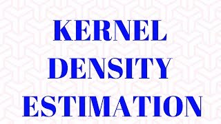 Kernel Density Estimation(KDE) : Non Parametric Statistical Estimation: PROC KDE in SAS