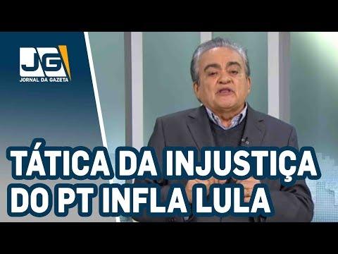 José Nêumanne Pinto/Tática da injustiça do PT infla Lula, mas desidrata Haddad
