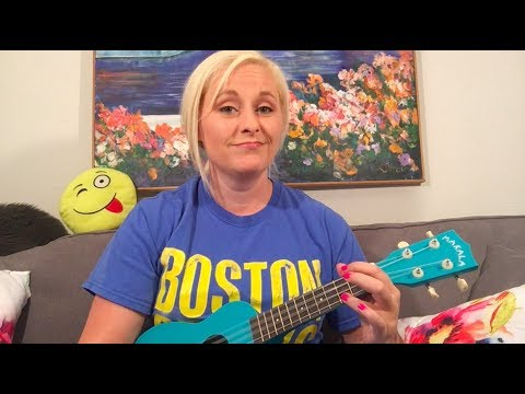 Waving Through A Window Ukulele Tutorial (EASY)