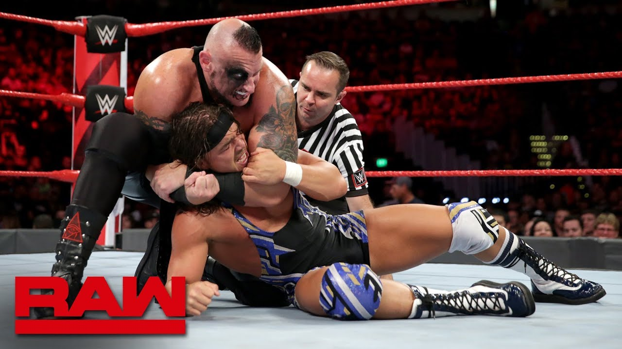 Chad Gable vs. Konnor: Raw, Sept. 24, 2018