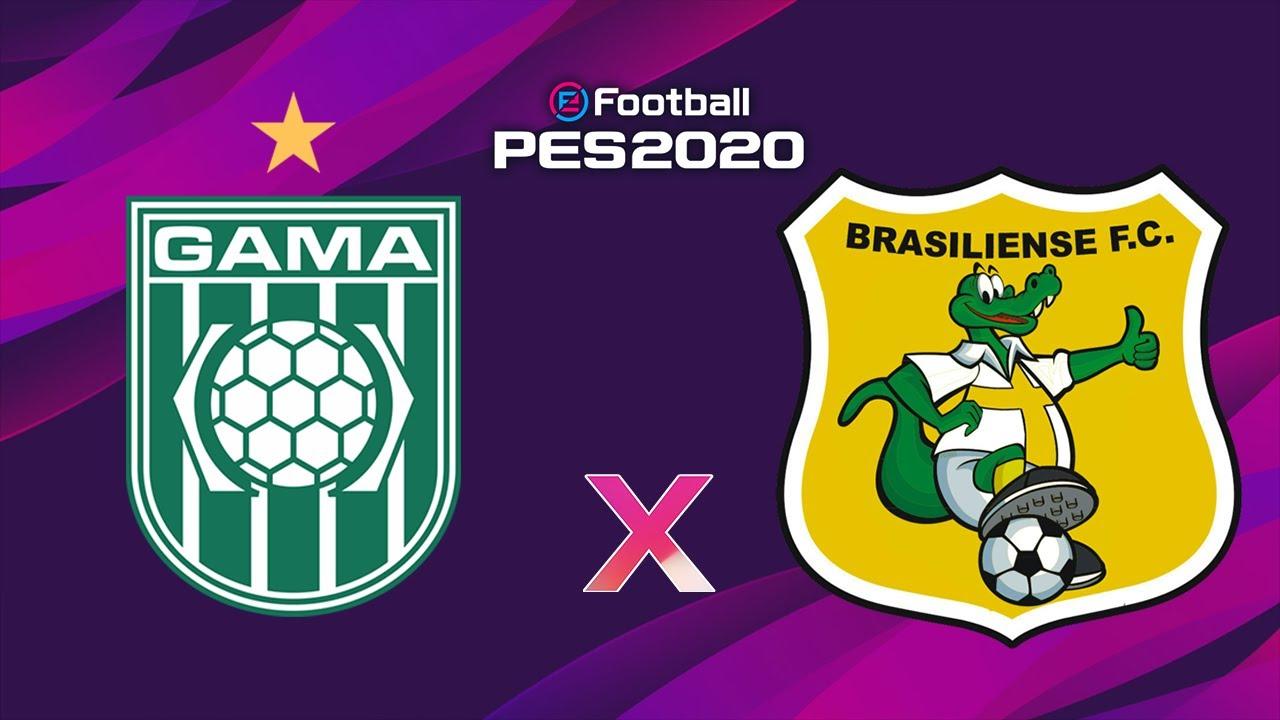 Gama x Brasiliense - Gols e Melhores momentos/Amistoso no PES 2020
