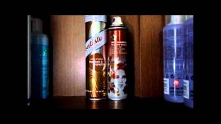 Comparrison : Batiste Hint Of Colour Dry Shampoo VS Superdrugs Chocolate Brownie Dry Shampoo HD
