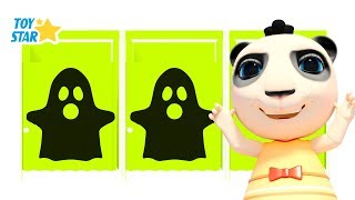 New 3D Cartoon For Kids ¦ Dolly And Friends ¦ Kids Play Hide and Seek w/ Color Cabins & Ghost #149
