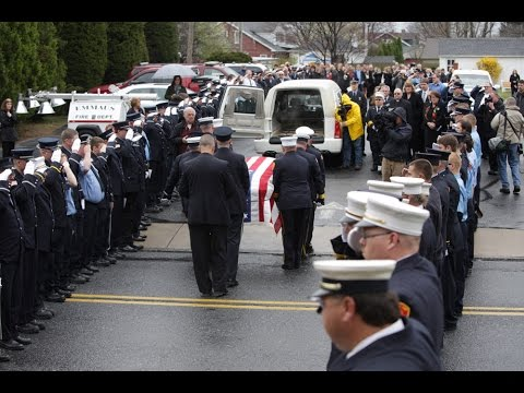 Fire Chief Robert Benner Funeral Tribute | Whitehall, PA.