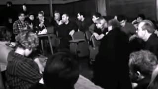"""Н.Губенко и В.Высоцкий на репетиции """"Пугачева"""". Театр на Таганке, редкие кинокадры."""