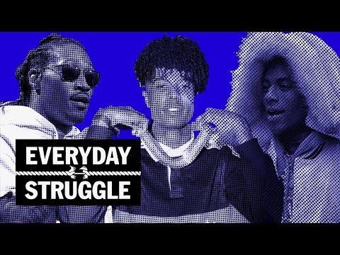 Future 'WIZRD' Album, BlueFace up Next? Nadeska & AK Address Soulja Boy Interview| Everyday Struggle