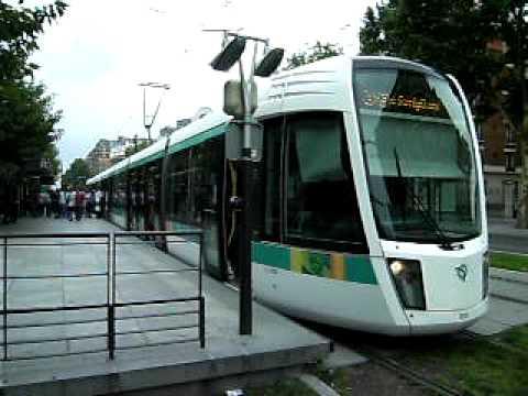 Tramway t3 porte d 39 orl ans ratp youtube - Porte de orleans ...