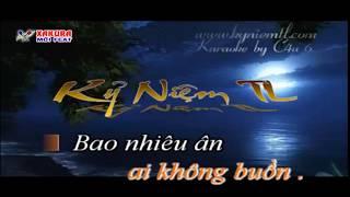 Karaoke [TAN NHAC] Đừng nhắc chuyện lòng - song ca Xakura