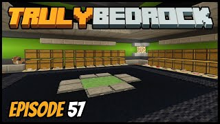Storage Area And Getting Revenge! - Truly Bedrock (Minecraft Survival Let's Play) Episode 57