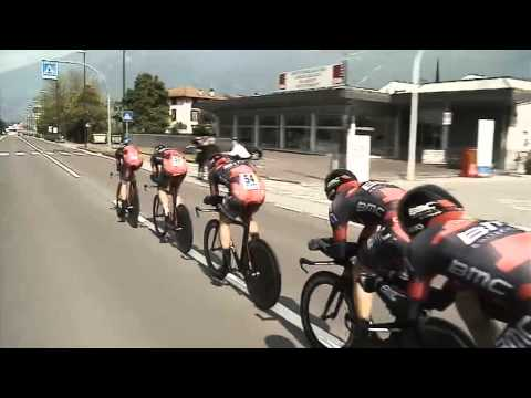 Giro del Trentino 2014: stage1 (TTT) video summary