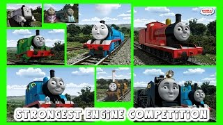 Thomas and Friends TrackMaster Strongest Train Competition Train Wrecks