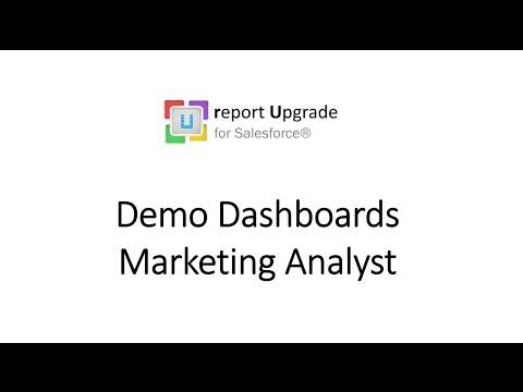 Report Upgrade - Marketing Analyst Dashboard