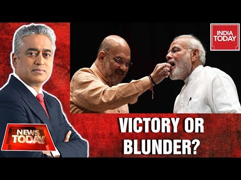 Historic Win Or Blunder By Modi-Shah Team?: Tharoor Vs Jitendra Singh | News Today With Rajdeep