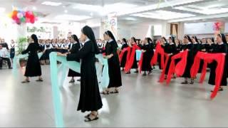 Múa: Huyền Nhiệm Tiếng Xin Vâng - Dòng Mân Côi Chí Hòa 2013..