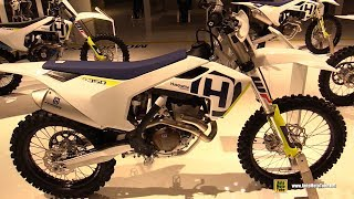 2018 Husqvarna FC 350 - Walkaround - 2017 EICMA Milan Motorcycle Exhibition