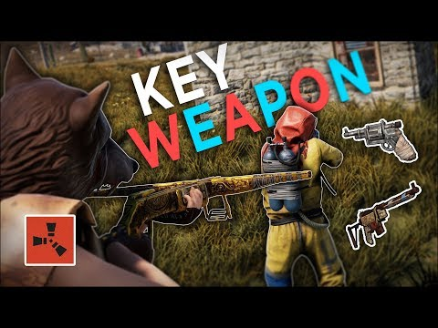 The KEY WEAPON to start off my BEST WIPE EVER! - Rust Solo Survival #1 thumbnail