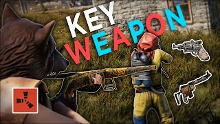 The KEY WEAPON to start off my BEST WIPE EVER! - Rust Solo Survival #1