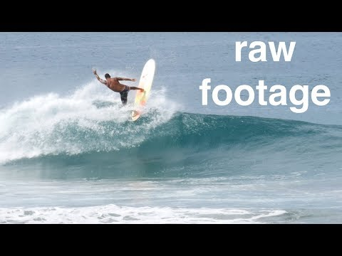 [raw footage] Surfing Playa Colorado (Nicaragua)