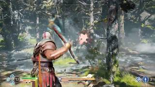 God of War - Forest Ancient - Easy Strategy