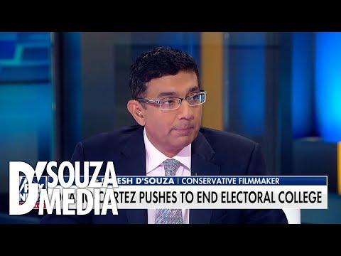 D'Souza shuts down socialist Alexandria Ocasio-Cortez