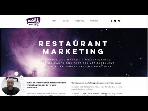 Restaurant Social Media and Digital Marketing Webinar