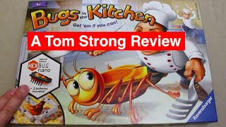 Bugs in the Kitchen - Review - Fast Paced Fun Game Incorporating a HexBug Nano. By Ravensburger
