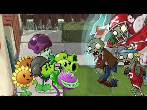 Plants vs. zombies 2 ANIMATION PVZ 1 in PVZ 2 part2 Cartoon