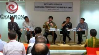 Adi Warman, SH, MH, MBA Memimpin Rapat Panitia Musyawarah Pembentukan PPPSRS Grand Slipi Tower