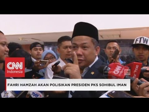"Kesal! Fahri Hamzah Akan ""Hajar"" Presiden PKS, Sohibul Iman & Nazaruddin"