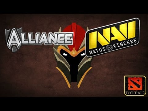 видео: ФИНАЛ Лузеров alliance vs navi #3(30.11.2013) asus rog dreamleague dota 2 consolidation final