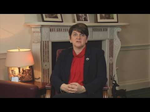 Arlene Foster Comments following Martin McGuinness' resignation