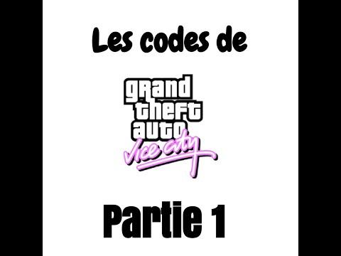 Les codes de triche de GTA Vice City | Partie 1